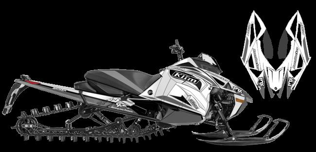 Justin Thomas Arctic Cat Next-Gen-Ascender j thomas velocity Sled Wrap Design