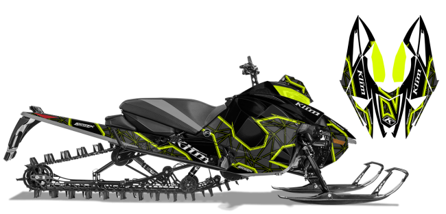 Klim Arctic Cat Next-Gen-Ascender Klim Demolish Wrap Design