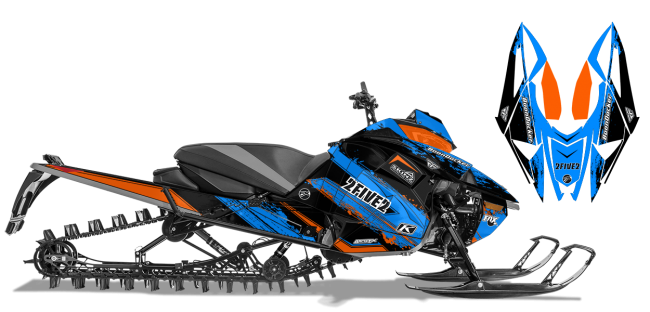 Cole Willford Arctic Cat Next-Gen-Ascender willford 2five2 Sled Wrap Design