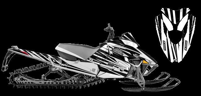 Chris Burandt Arctic Cat procross-proclimb burandt evolution Sled Wrap Design