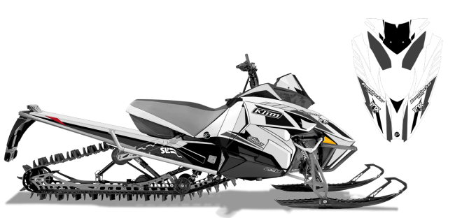 Justin Thomas Arctic Cat Procross-Proclimb J Thomas Velocity Sled Wrap Design