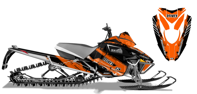 Cole Willford Arctic Cat Procross-Proclimb willford 2five2 Sled Wrap Design