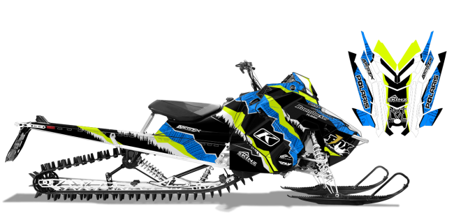 Dan Adams Polaris AXYS-RMK adams alpine Sled Wrap Design