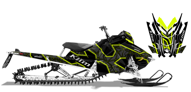 Klim Polaris AXYS-RMK Klim Demolish Wrap Design