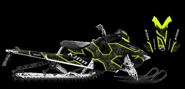 Klim Polaris AXYS-RMK Klim Demolish Wrap Design