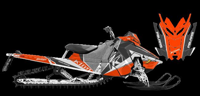Klim Polaris AXYS-RMK Klim Kaos Wrap Design