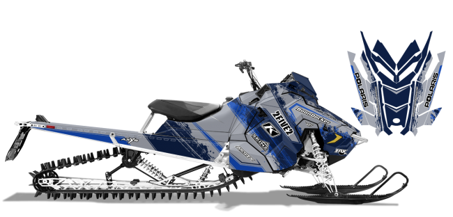 Cole Willford Polaris axys-rmk willford 2five2 Sled Wrap Design