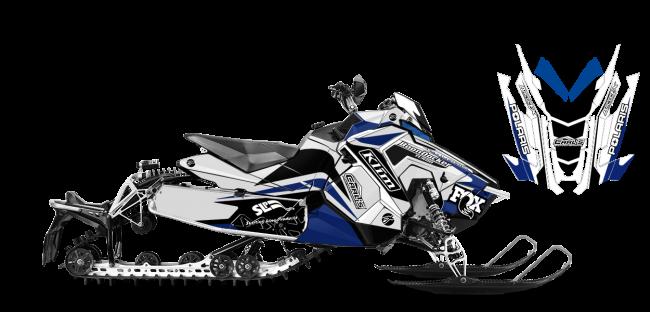 Justin Thomas Polaris AXYS-Rush-Switchback J Thomas Velocity Sled Wrap Design