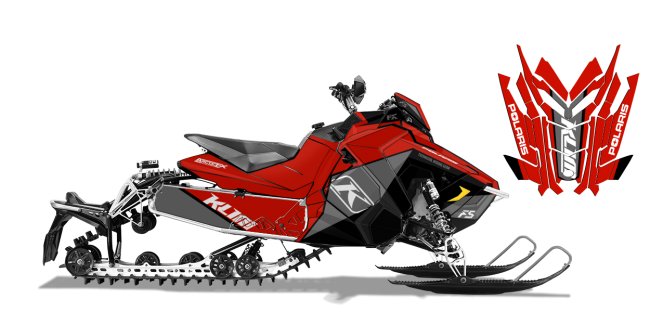 Klim Polaris AXYS-Rush-Switchback Klim F5 Ion Wrap Design