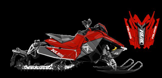 Klim Polaris AXYS-Rush-Switchback Klim F5 Ion Wrap Design