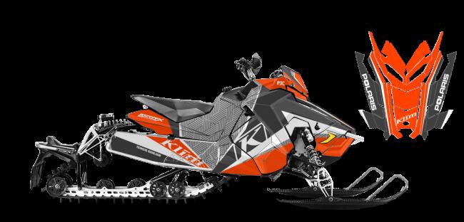 Klim Polaris AXYS-Rush-Switchback Klim Kaos Wrap Design