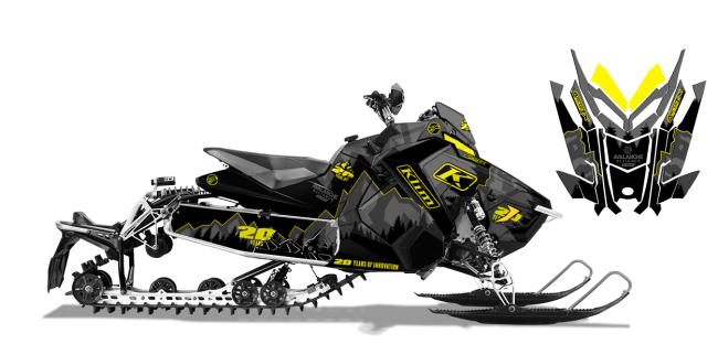 Klim Polaris AXYS-Rush-Switchback Klim Legacy Wrap Design