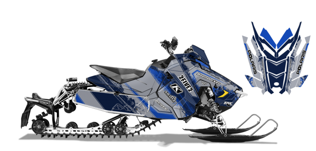 Cole Willford Polaris AXYS-Rush-Switchback willford 2five2 Sled Wrap Design