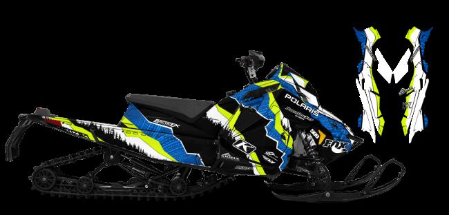 Dan-adams Polaris Matryx-Switchback-Indy adams alpine Sled Wrap Design