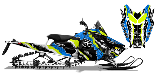 Dan Adams Polaris proride-rmk adams alpine Sled Wrap Design