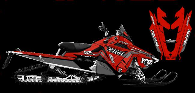 Justin Thomas Polaris ProRide-RMK J Thomas Velocity Sled Wrap Design