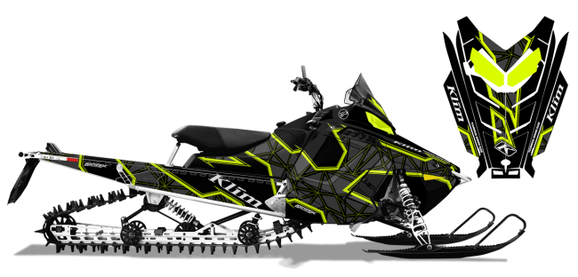 Klim Polaris ProRide-RMK Klim Demolish Wrap Design