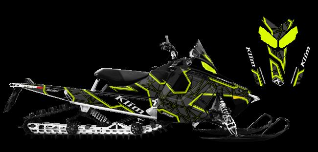 Klim Polaris ProRide-RMK Klim Demolish Wrap Design