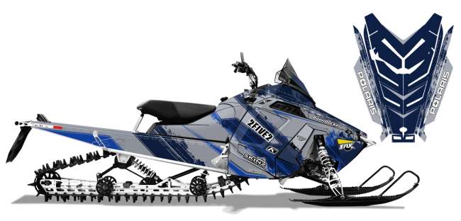 Cole Willford Polaris proride-rmk willford 2five2 Sled Wrap Design