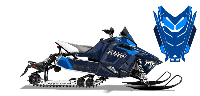 Andy Thomas Polaris ProRide-Rush-Switchback A Thomas Peaked Sled Wrap Design