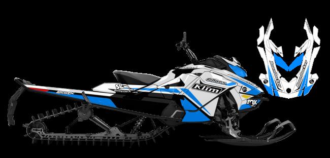 Justin Thomas Skidoo rev-gen4 j thomas velocity Sled Wrap Design