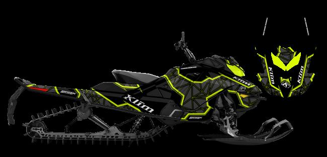 Klim Skidoo Rev-Gen4 Klim Demolish Wrap Design