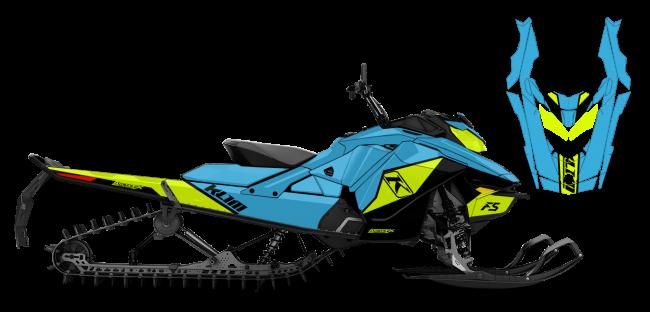 Klim Skidoo Rev-Gen4 Klim F5 Ion Wrap Design