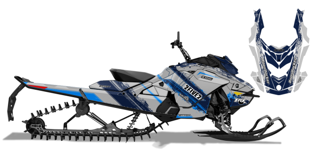 Cole Willford Skidoo Rev-Gen4 Willford 2Five2 Sled Wrap Design