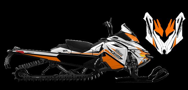 Justin Thomas Skidoo Rev-XM J Thomas Velocity Sled Wrap Design