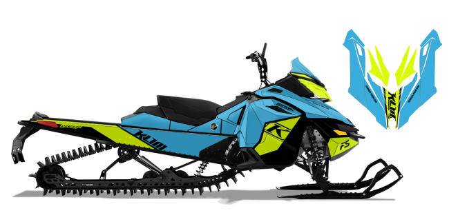 Klim Skidoo Rev-XM Klim F5 Ion Wrap Design