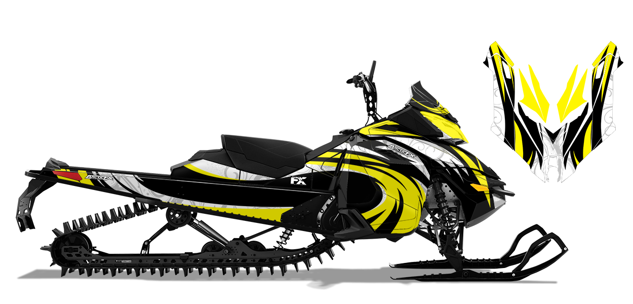 Surge Custom Design For Skidoo Rev Xs 57336