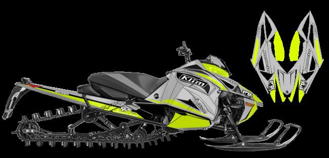 Justin Thomas Yamaha Sidewinder J Thomas Velocity Sled Wrap Design